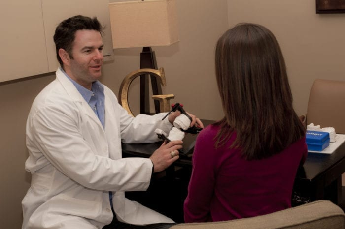 Dr. Grapevine with patient in Plano TX